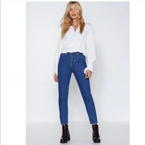 Nasty Gal High Waisted Skinny Jeans Size 25